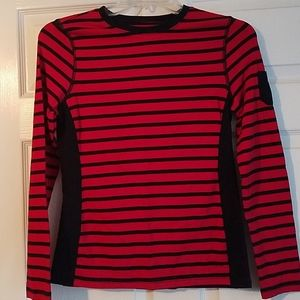 Shirt Chaps  Sport Black and Red.Size M